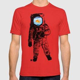 Goldfish Astronaut T-shirt