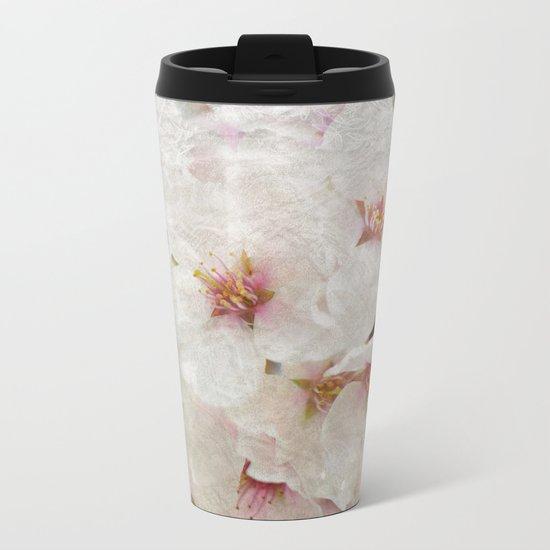 Cherry blossom #5 Metal Travel Mug