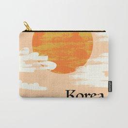 Korean Setting sun block art Carry-All Pouch