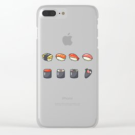 Sushi Lovers Clear iPhone Case