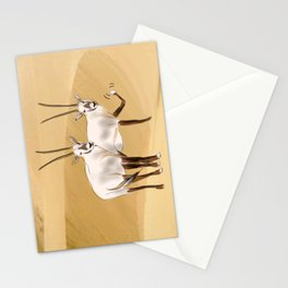 Arabian Oryx Stationery Cards