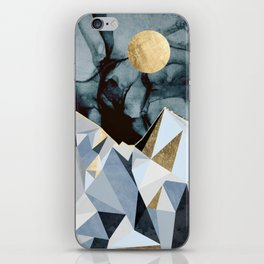 Midnight Peaks iPhone Skin