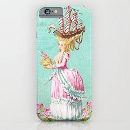 Marie Antoinette Liberté iPhone Case