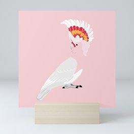 Major Mitchell's cockatoo Mini Art Print