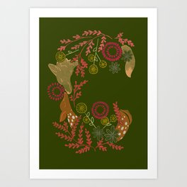Spirit Animals Art Print