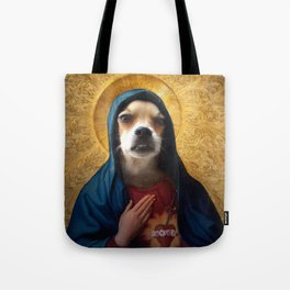 The Hairy Virgin Tote Bag
