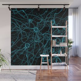 You Get on My Nerves! / 3D render of nerve cells Wall Mural