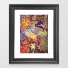 A Strange Fairytale Framed Art Print