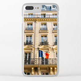 Parisian Sunset II Clear iPhone Case