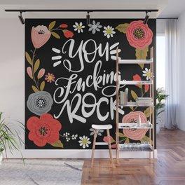 Pretty Sweary: You Fucking Rock Wall Mural