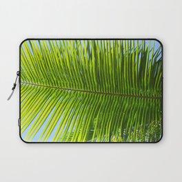 A single palm branch Laptop Sleeve