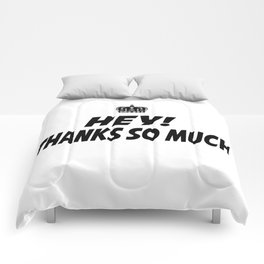 Thanks  So Much Comforters