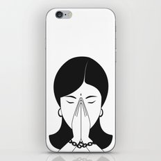 Modern woman iPhone & iPod Skin