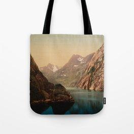 """Lofoten Trollfjord Norway"" Tote Bag"