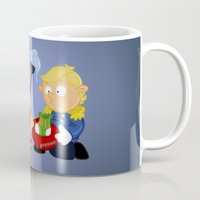 cinderella Mugs featuring Cinderella by Alapapaju