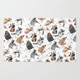 Animal Orchestra Rug
