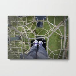 Playground Perspective Metal Print