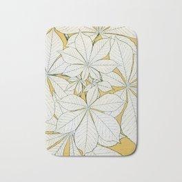 Leaves from Nature, Vintage Design Bath Mat