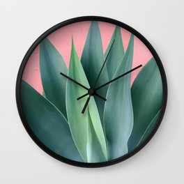 Agave succulent Wall Clock