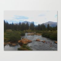 yosemite Canvas Prints featuring Yosemite by Mary Spinney