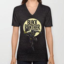Black Panther Unisex V-Neck