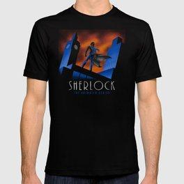 Sherlock Cartoon T-shirt
