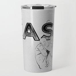 In Johnny Cash We Trust. Travel Mug