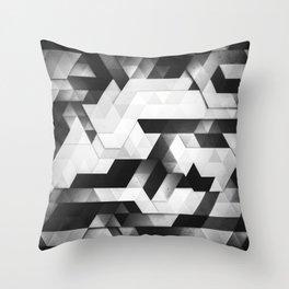 scope (monochrome series) Throw Pillow