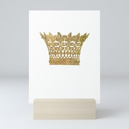 Crown Mini Art Print