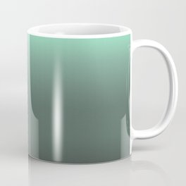 mint to black ombre Coffee Mug