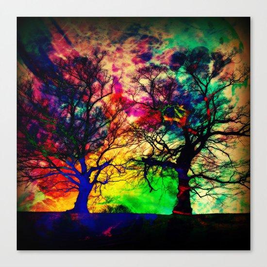 nebula twins Canvas Print