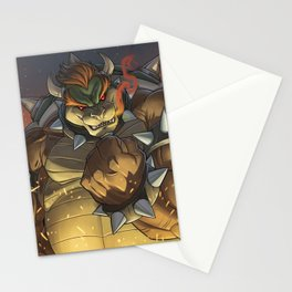 BOWSER: KING OF THE KOOPAS Stationery Cards