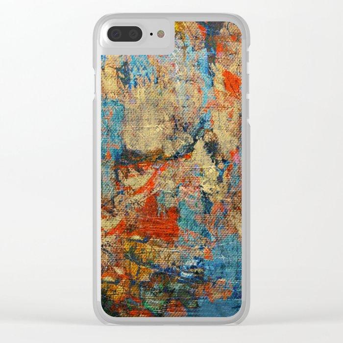 Mannaz - Runes Series Clear iPhone Case