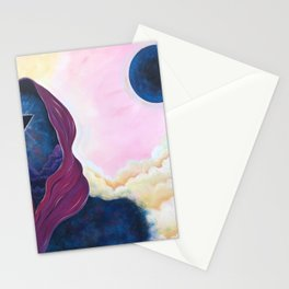 When Worlds Collide I Stationery Cards