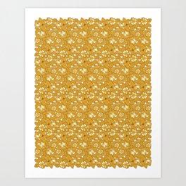 Rose pattern... Art Print