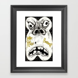 Bananas Framed Art Print