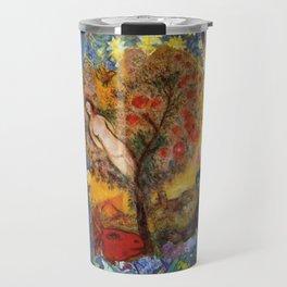 Chagall Collage Travel Mug