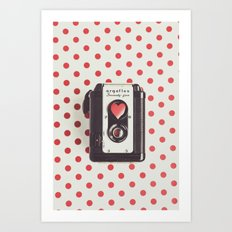 Love Photography Art Print
