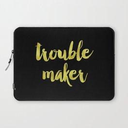 Trouble maker Laptop Sleeve