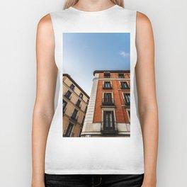 Madrid Old Buildings Biker Tank