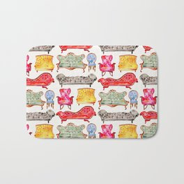 Victorian Lounge – Rainbow Palette Bath Mat