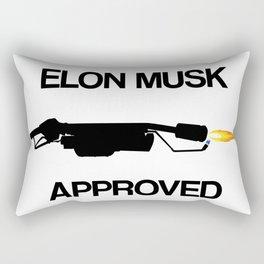 Elon Musk Approved Rectangular Pillow