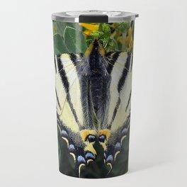 Scarce Swallowtail, Iphiclides Podalirius Travel Mug
