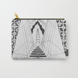 Geometric steps Carry-All Pouch
