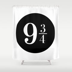 Platform 9 3/4 Shower Curtain