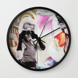 Monroe and Me Wall Clock