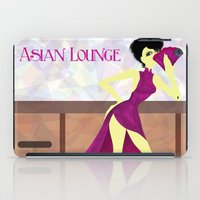 asian iPad Cases featuring Asian Lounge by Alex Moreno