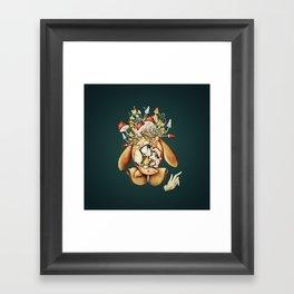 Toadstool Spirit Framed Art Print