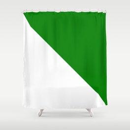Flag of siberia Сиби́рь Shower Curtain