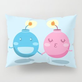 Our love is the bomb Pillow Sham